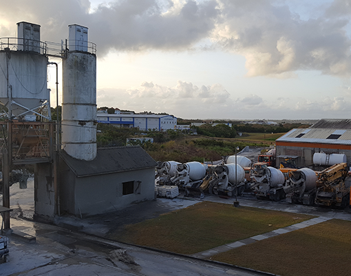 Concrete mix plant